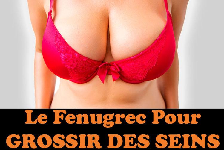 Le fenugrec est la meilleur solutions naturelles pour grossir des seins
